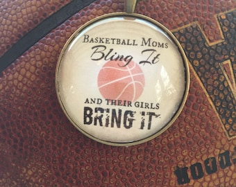 Basketball Moms Necklace