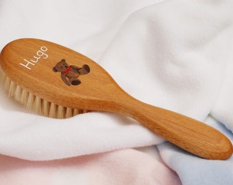 Personalized Mirror Hair Brush And Mirror Comb Set