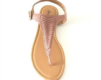 Le blush sandal