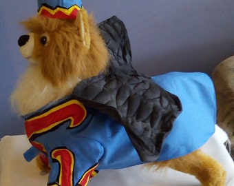 Dog halloween costume, Dog flying monkey costume, The wizard of oz dog costume, pet costume