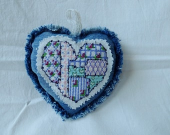 Heart hanging jeans