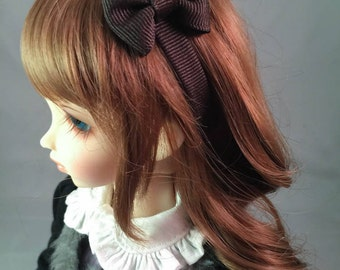 MSD Headband with Bow in Brown