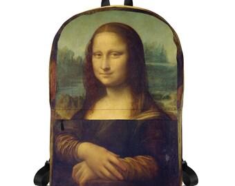 Mona Lisa, Leonardo da Vinci - Backpack