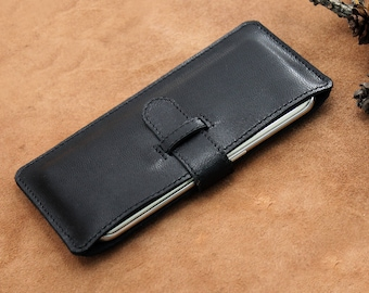 Leather iPhone Case, Mobile Sleeve, Leather Mobile Wallet, Mobile Phone Leather Case