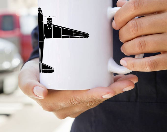 KillerBeeMoto:   Douglas C-47 Skytrain Airplane Coffee Mug