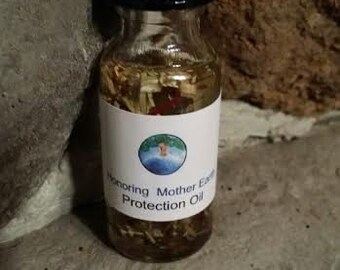 Protection Oil, Voodoo, Hoodoo,Ritual, altar, Anointing, Pagan, Wiccan