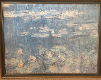 Water Lillies by Claude Monet framed print