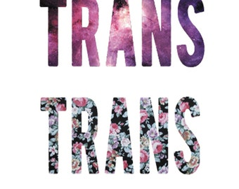 Trans Stickers