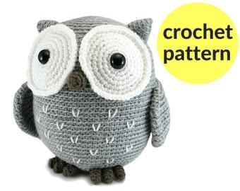 Easy Amigurumi Crochet Patterns : Owl amigurumi patterns owl stuffed animal crochet owl