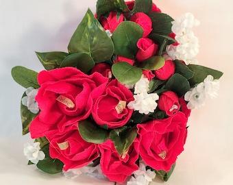Sweet Heart of Roses & Chocolates
