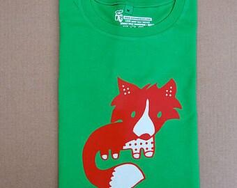 cute fox cub adult t-shirt