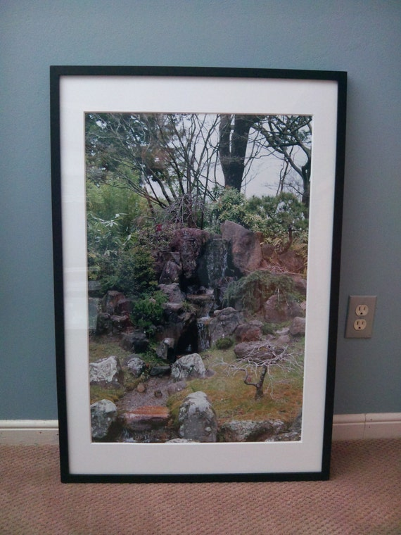 Japanese Tea Garden San Francisco, CA--matted and framed photo