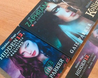 Hidden12Saga YA- Adult 3 Book Suspense Thriller Series Zaphram, Kollizion