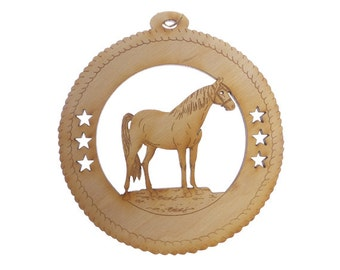 Horse Ornament - Horse Christmas Ornaments - Horse Decor - Horse Ornaments Christmas - Gift for Horse Lover - Personalized Free