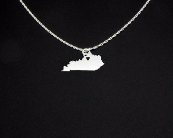 Kentucky Necklace - Kentucky Jewelry - Kentucky Gift