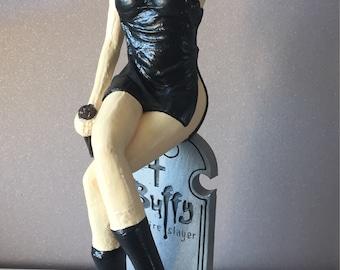 Buffy the vampire slayer statue