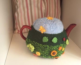 Garden Sunflower-  Tea Cosy.