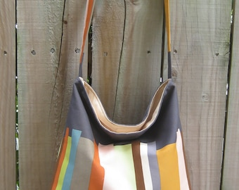 The Slouch Hobo Style Bag PDF Sewing Pattern and Tutorial