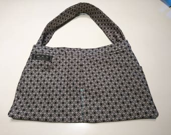 New Look Trouser Suit Handbag in Grey and Torquoise smart casual christmas
