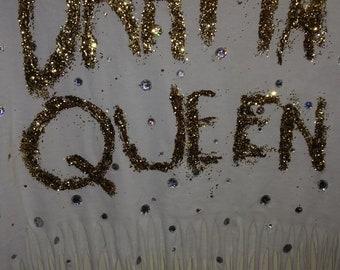 Gold Glitter Drama Queen!