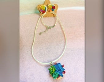 Succulent jewelry set