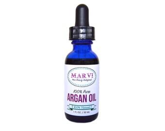 100% Pure Argan Oil | Cold Pressed Oil | Vegan | Natural | Serum | Food-Grade