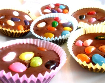 Candy Nests Solid Milk Chocolate Jelly Bean Eggs Cups Easter Candy Easter Chocolates