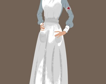 Poster illustrated Lady Sybil