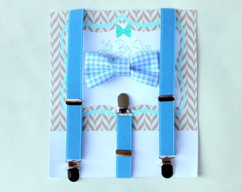 Boys Bow Tie and Suspenders, Boys Cake Smash Outfit, Ring Bearer Bow Tie, Boys Suspenders, Toddler Bow Tie, Gift for Boys, 1st birthday Boy