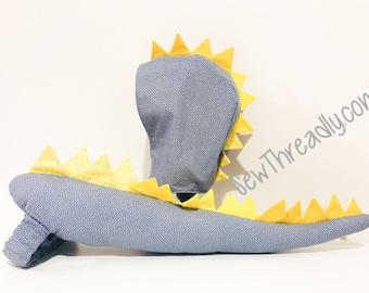 Custom Dino Tail with Hood