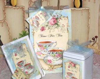 Time For Tea Gift Bag Set