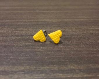 Waffles earrings
