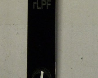 rLPF: 2HP resonant low-pass filter for Eurorack (available with or without panel)