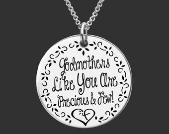 Godmother Gift | Godmother | Baptism Gift | Christening Gift | Gift for Godmother | Fairy Godmother | Godmothers like you | Korena Loves
