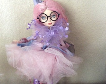 Monster Doll High/ Ever After High Repaint.  Ella SOLD on Lwy for L. 2 of 3