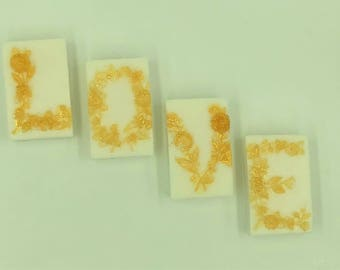 Love Soap - Valentines Day Soap - Romantic Soap - Valentines Day Favor - Anniversary Soap - Valentine Soap - Novelty Soap - Shea Butter Soap