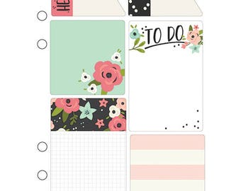 Sticky notes a5, Bloom Sticky notes, Bloom Collection, Carpe Diem a5, Planner inserts a5, Planner post it, Bloom notepads, notepad, planners