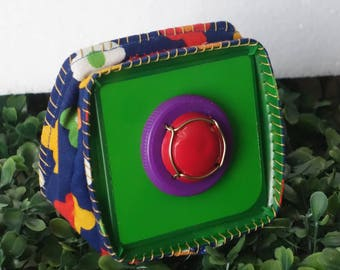 colorful wallet 100% recycled materials