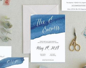 Modern Wedding Invitation Template. Simple Wedding Invitation Template. Boho Chic Wedding Invites. Minimal Wedding Invitations. -18