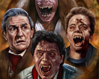 Fright Night 1985 - A2 Print
