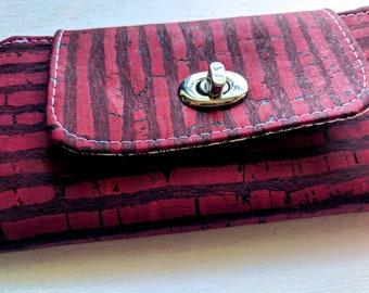 Purple Cork - Slimline Wallet