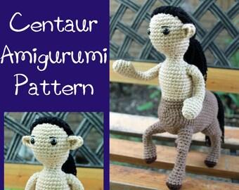 Crochet Pattern: Centaur Amigurumi Instant Download PDF