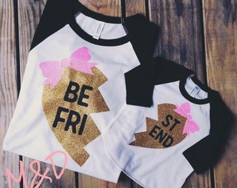 Besties Shirts - Best Friend Shirts -Best Friends Forever Shirts - BFF Shirts - Sisters Shirts - Matching BFF Shirts - Twin Sister Shirts