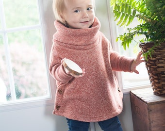 Baby - toddler - scalable poncho