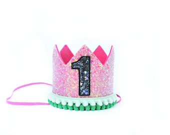 Watermelon First Birthday Crown || One in a Melon Birthday || First Birthday Crown