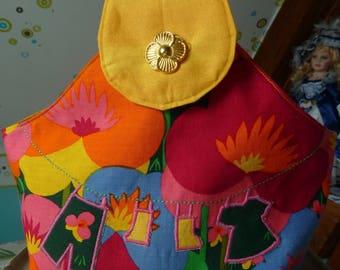 Clothespins majority floral bag