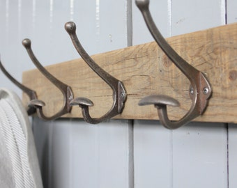 Limited Edition Reclaimed Bowler Hat And Coat Hook