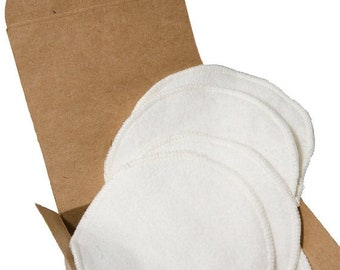 Spring Sale Hooter Soothers - Washable Nursing Pads - Organic Bamboo Fleece - Ultra soft & absorbant - 1 pair