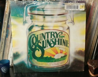 Vinyl Album - 1980- Country Sunshine - K-tel Records - Vintage Vinyl Record - Country Western