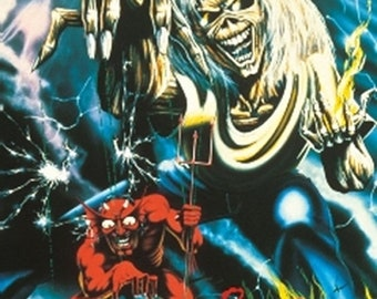 Spring Sales Event: The Number of the Beast Studio 1982 album by Iron Maiden POSTER